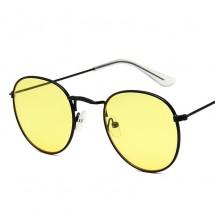 Дамски слънчеви очила с кръгли огледални стъкла