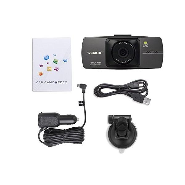 Tonbux V8 видеорегистратор за кола с 16GB карта памет AV out HDMI USB -12Mpx 3