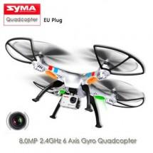 Квадрокоптер Syma X8G 4CH с 8mpx HD камера HeadLess режим RC IOC, LED
