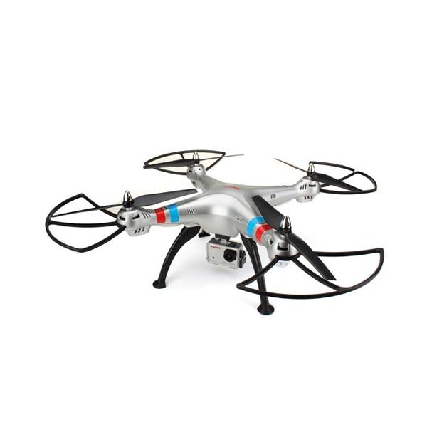 Квадрокоптер Syma X8G 4CH с 8mpx HD камера HeadLess режим RC IOC, LED 5