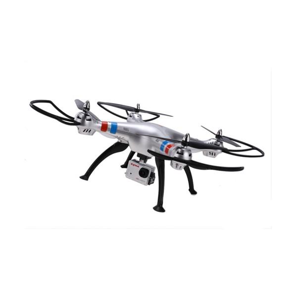 Квадрокоптер Syma X8G 4CH с 8mpx HD камера HeadLess режим RC IOC, LED 6