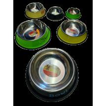 Кръгла метална купа за храна за кучета LBF11
