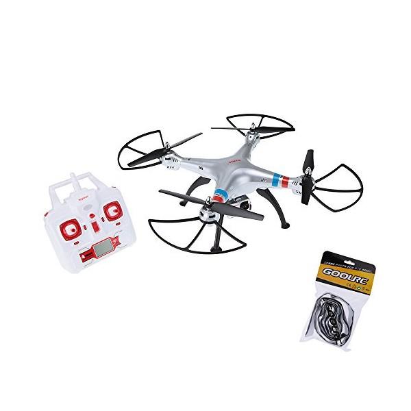 Квадрокоптер Syma X8G 4CH с 8mpx HD камера HeadLess режим RC IOC, LED 9