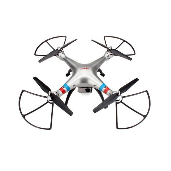 Квадрокоптер Syma X8G 4CH с 8mpx HD камера HeadLess режим RC IOC, LED 10