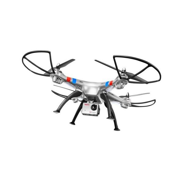 Квадрокоптер Syma X8G 4CH с 8mpx HD камера HeadLess режим RC IOC, LED 12
