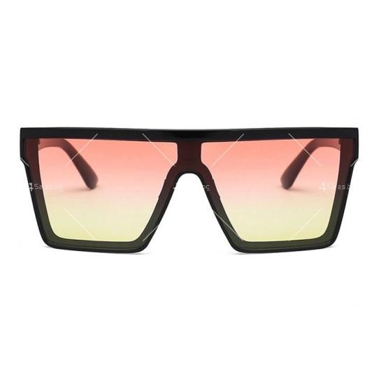 Дамски слънчеви oversized очила в квадратна форма