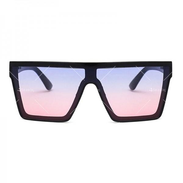 Дамски слънчеви oversized очила в квадратна форма 2