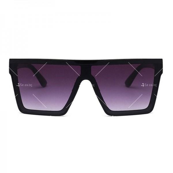 Дамски слънчеви oversized очила в квадратна форма 5