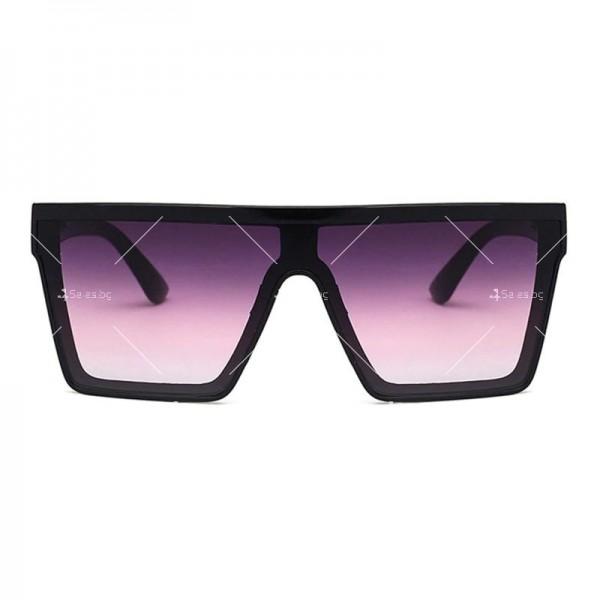 Дамски слънчеви oversized очила в квадратна форма 6
