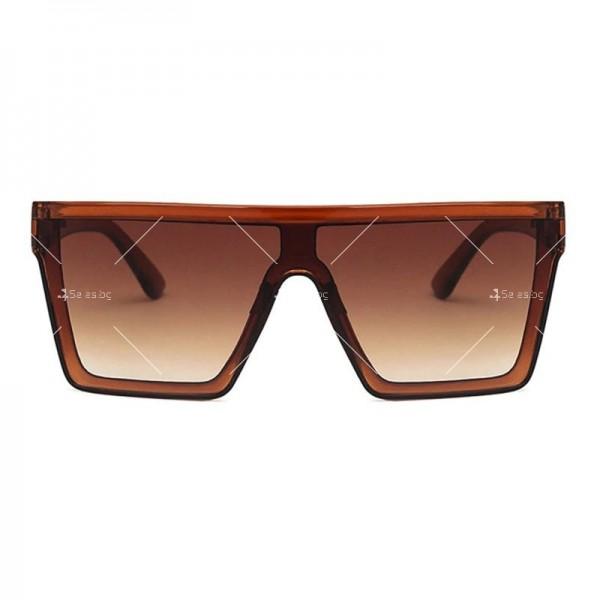 Дамски слънчеви oversized очила в квадратна форма 8