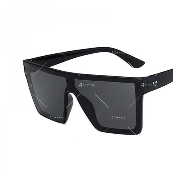 Дамски слънчеви oversized очила в квадратна форма 11