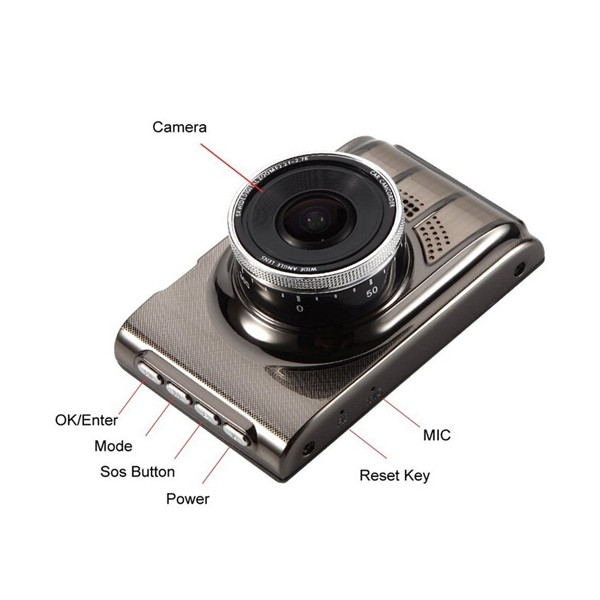 Novatek Anastar K8 камера за автомобил до 30 мин работен режим -12Mpx 11