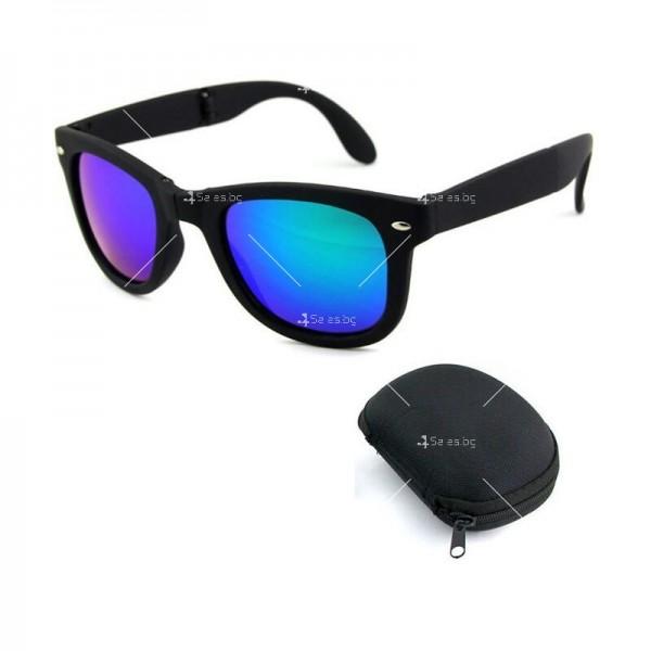 Сгъваеми унисекс слънчеви очила с поляризирани стъкла 3