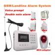 Алармена система с 99 безжични зони PSTN ( за мобилен и стационарен телефон) 9