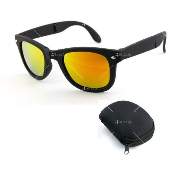 Сгъваеми унисекс слънчеви очила с поляризирани стъкла 4