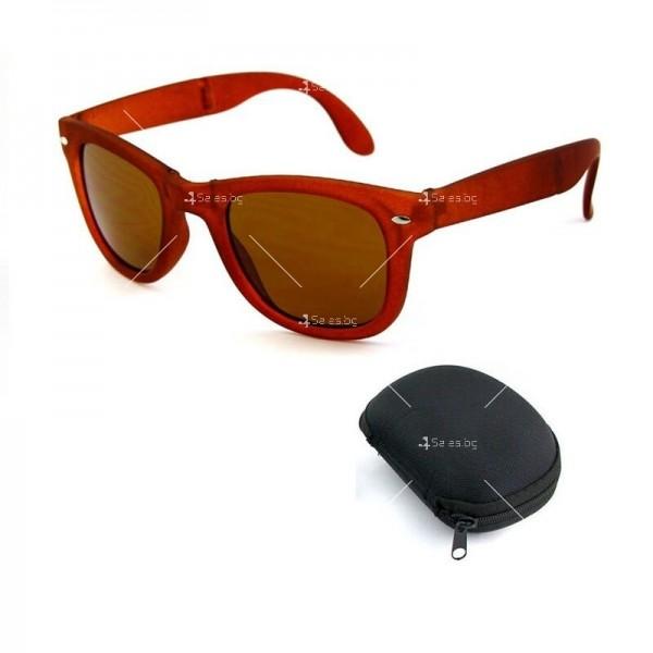 Сгъваеми унисекс слънчеви очила с поляризирани стъкла 5