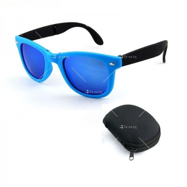 Сгъваеми унисекс слънчеви очила с поляризирани стъкла 6