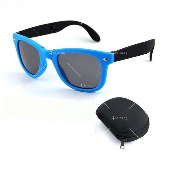 Сгъваеми унисекс слънчеви очила с поляризирани стъкла 7