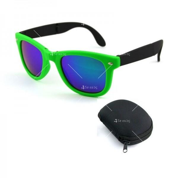 Сгъваеми унисекс слънчеви очила с поляризирани стъкла 8