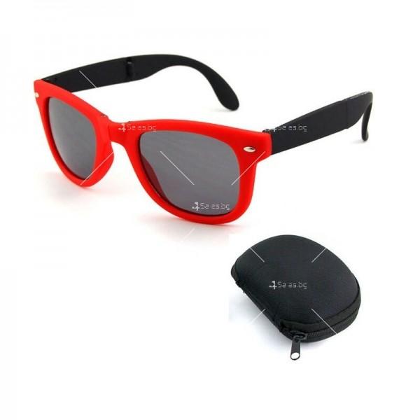 Сгъваеми унисекс слънчеви очила с поляризирани стъкла 9