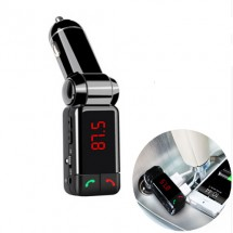 Блутут за кола (MP3player FM предавател зарядно USB и Bluetooth)