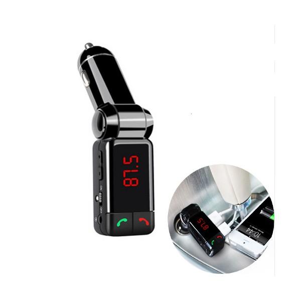 Блутут за кола (MP3player FM предавател зарядно USB и Bluetooth) HF4