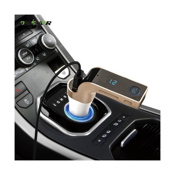 Фм трансмитер за кола 4 в 1 G7 + AUX ( FM, MP3 player, USB hands free) HF3