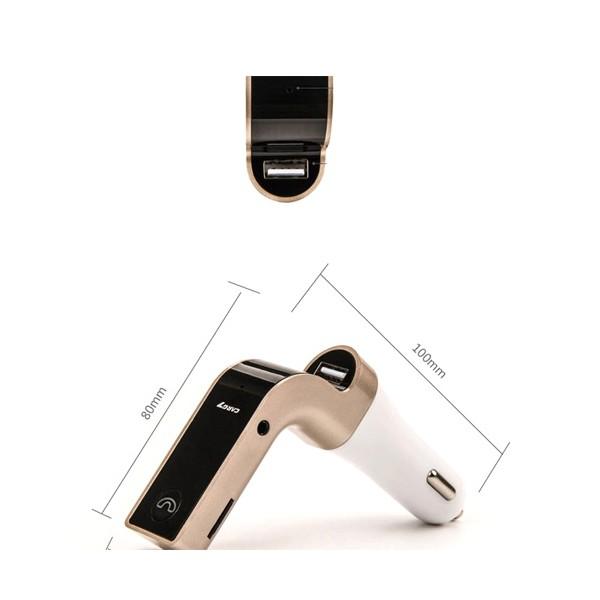 Фм трансмитер за кола 4 в 1 G7 + AUX ( FM, MP3 player, USB hands free) HF3 6