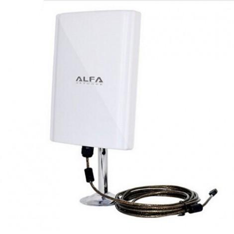Приемник и адаптер ALFA 039H безжичен за Wi-Fi с USB