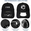 Комбинирана бейзболна шапка с вентилатор подходяща за мъже и жени CAP2 7
