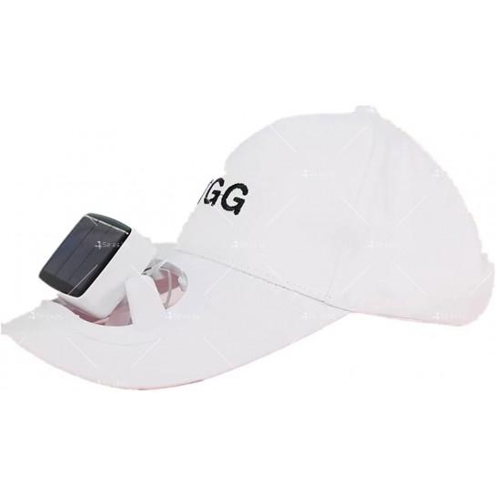 Бейзболна шапка с вентилатор със соларна захранване на батерията CAP1