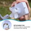 Бейзболна шапка с вентилатор със соларна захранване на батерията CAP1 5
