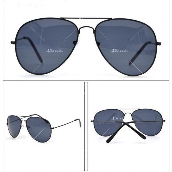 Елегантни унисекс очила с огледални стъкла в различни цветове YJ82 2