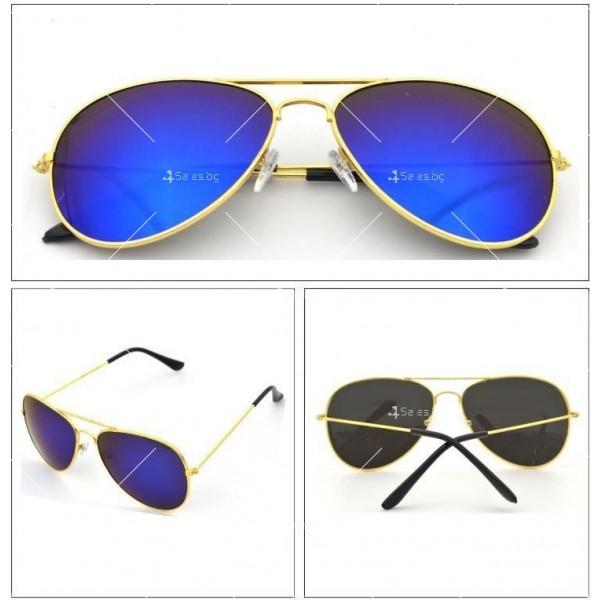 Елегантни унисекс очила с огледални стъкла в различни цветове YJ82 3