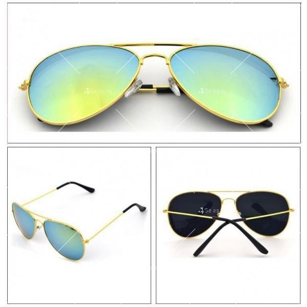 Елегантни унисекс очила с огледални стъкла в различни цветове YJ82 5