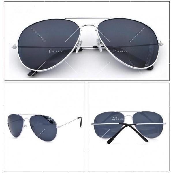 Елегантни унисекс очила с огледални стъкла в различни цветове YJ82 6