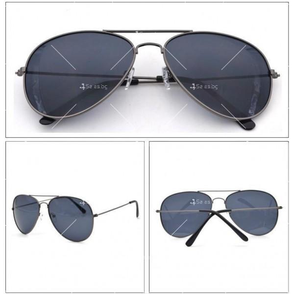 Елегантни унисекс очила с огледални стъкла в различни цветове YJ82 8