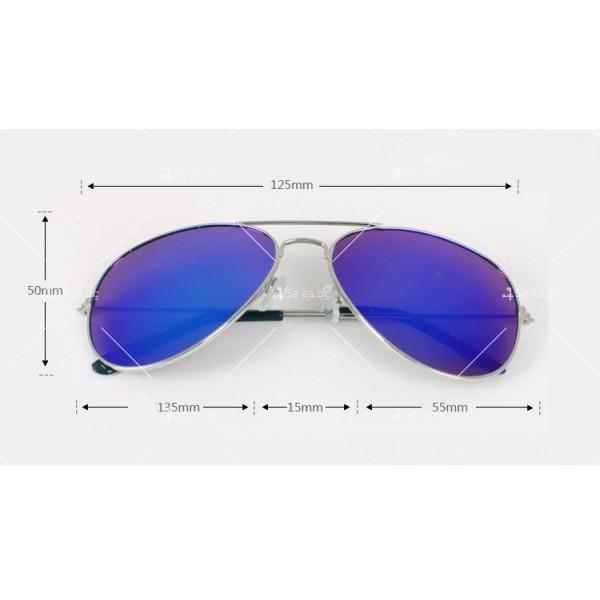 Елегантни унисекс очила с огледални стъкла в различни цветове YJ82 11