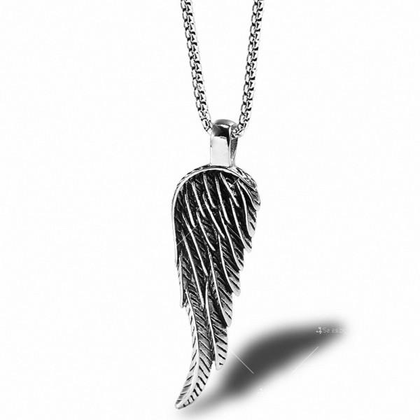 Синджирче с висулка ангелско крило NSD9