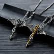 Моден синджир с висулка меч с дракон NSD15 3