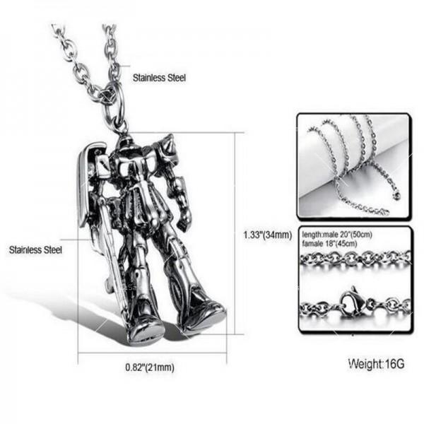 Страхотна висулка реплика робот трансформърс NSD22 3