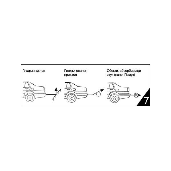 Парктроник за кола с 4 сензорни датчика PK1 6