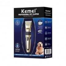 Машинка за сухо подстригване на домашни любимци Kemei KM 1053 shav75