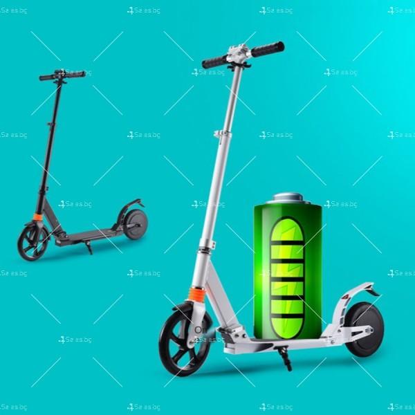 Сгъваема електрическа тротинетка с 8 инча гуми и скорост до 15 км./час SCOOTER5 4