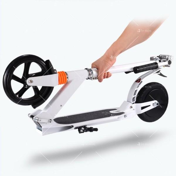 Сгъваема електрическа тротинетка с 8 инча гуми и скорост до 15 км./час SCOOTER5 5