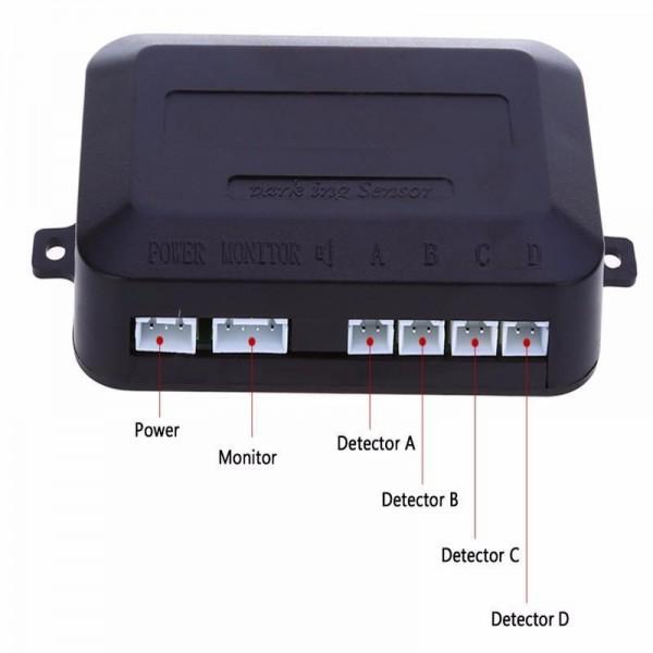 Парктороник за кола с 8 сензорни датчика PK2 23