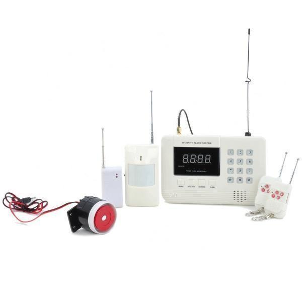 Алармена система с 99 безжични зони PSTN ( за мобилен и стационарен телефон) 2