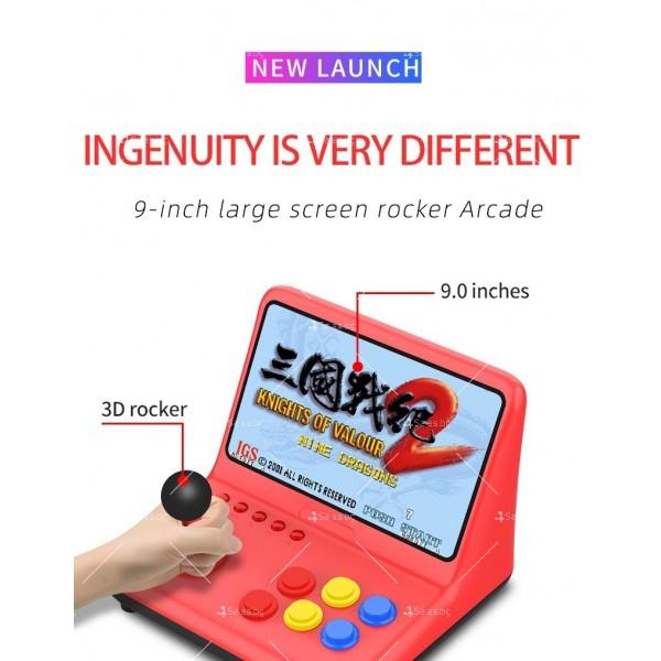 Ретро игра с 12-инчов цветен екран и 3D джойстик PSP4 2