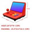 Ретро игра с 12-инчов цветен екран и 3D джойстик PSP4 7
