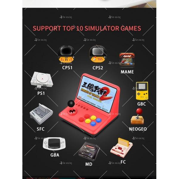Ретро игра с 12-инчов цветен екран и 3D джойстик PSP4 8